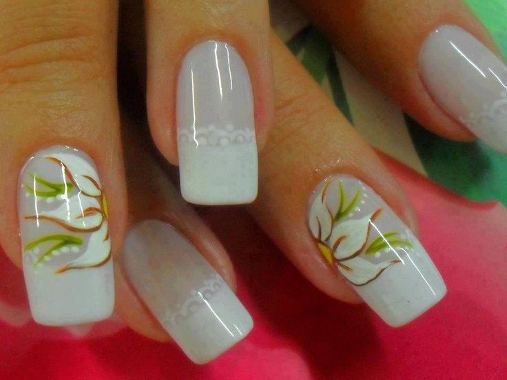 19 Cute & Inspiring Nail Art Designs & Ideas
