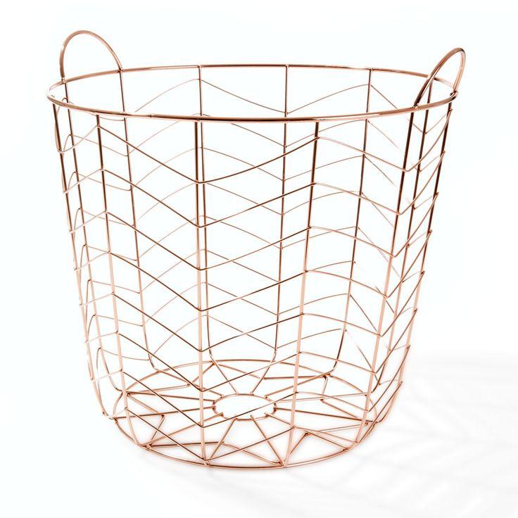turn-a-wire-basket-into-a-stylish-storage-solution - Kmart