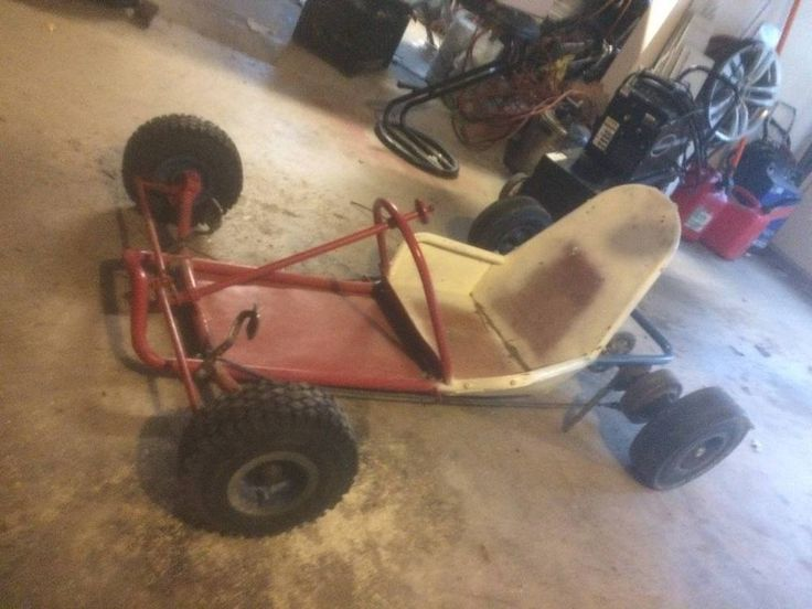 Vintage Racing Go Kart 800 Cart Part