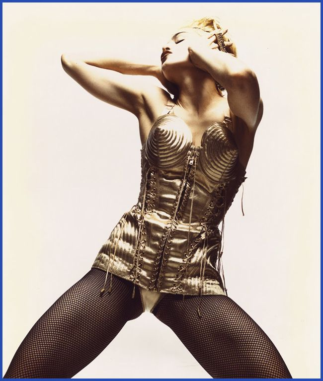 Tweedot blog magazine - Madonna Like a Virgin Jean Paul Gaultier mostra a Venezia 2013