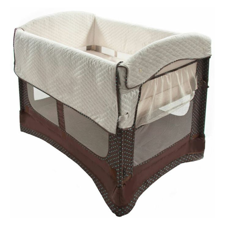 Arms Reach Ideal Co-Sleeper Bedside Bassinet - Keep your baby within arm's reach while you sleep with the Arms Reach Ideal Co-Sleeper Bedside Bassinet. Designed to be used as a beside sleeper w...