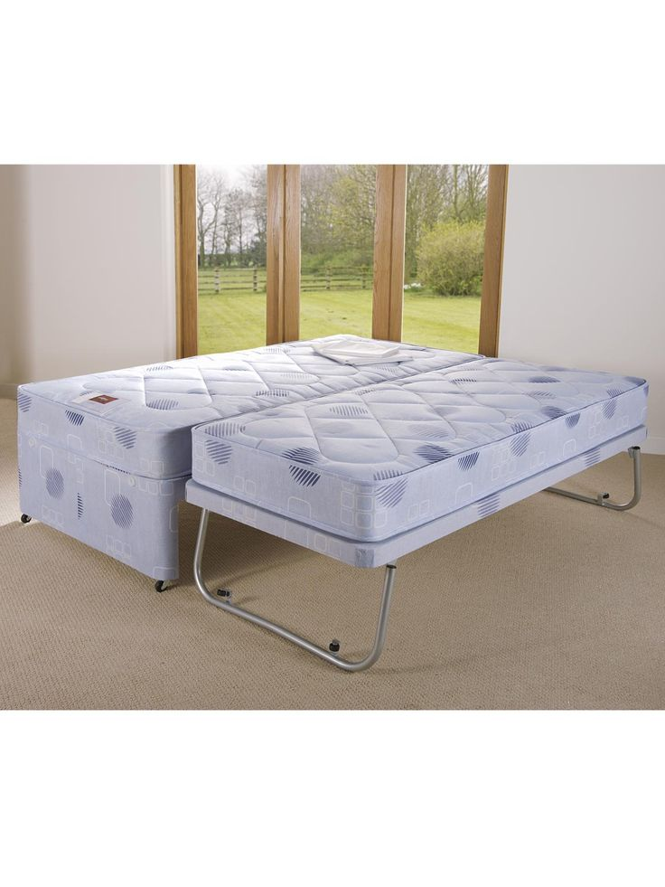 Airsprung Single Divan Bed With High Level Guest Very Co Uk