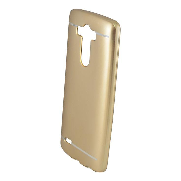 Mobilce   LG G3 NICE TPU GOLD Mobilce   Cep Telefonu Kılıfı ve Aksesuarları