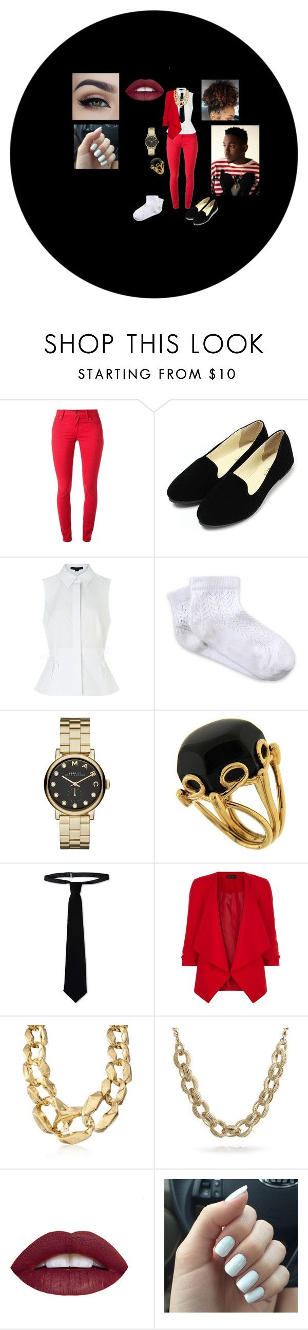 """""""Kendrick Lamar - Swimming Pools"""" by chibi-inuzuka ❤ liked on Polyvore featuring Burberry, Alexander Wang, RED Valentino, Marc by Marc Jacobs, Valentin Magro, New Look, Ross-Simons and Bling Jewelry"""