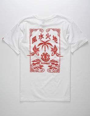 ELEMENT Woodcut Menu Mens T-Shirt  505773a7dba