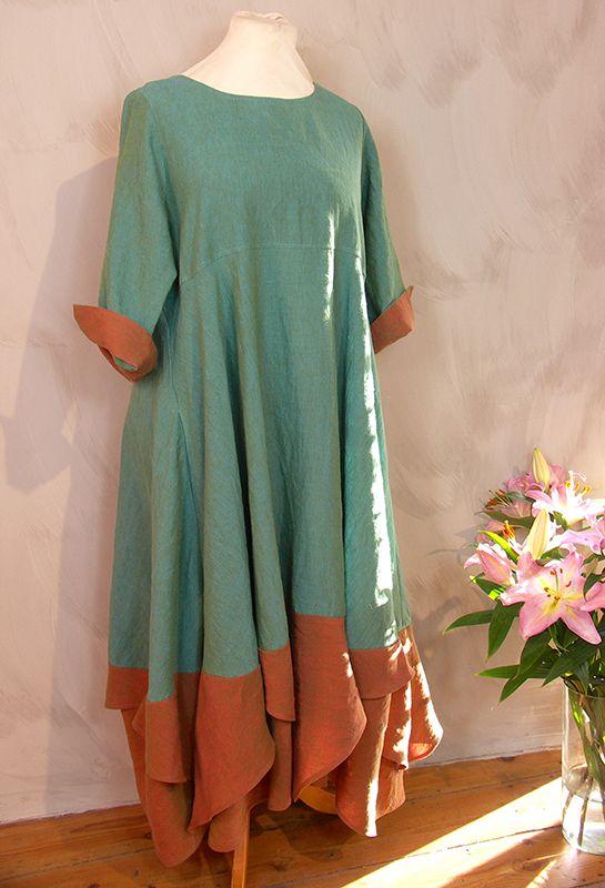 Summer Handkerchief Dress £315, various colours.
