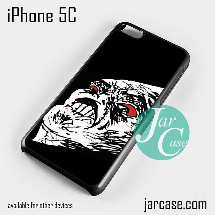 rage meme face 4 Phone case for iPhone 5C and other iPhone devices