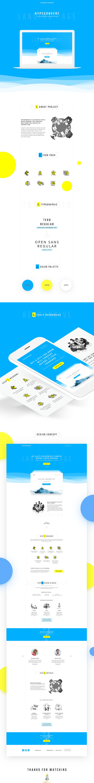Hyperconvert - Landing Page on Behance