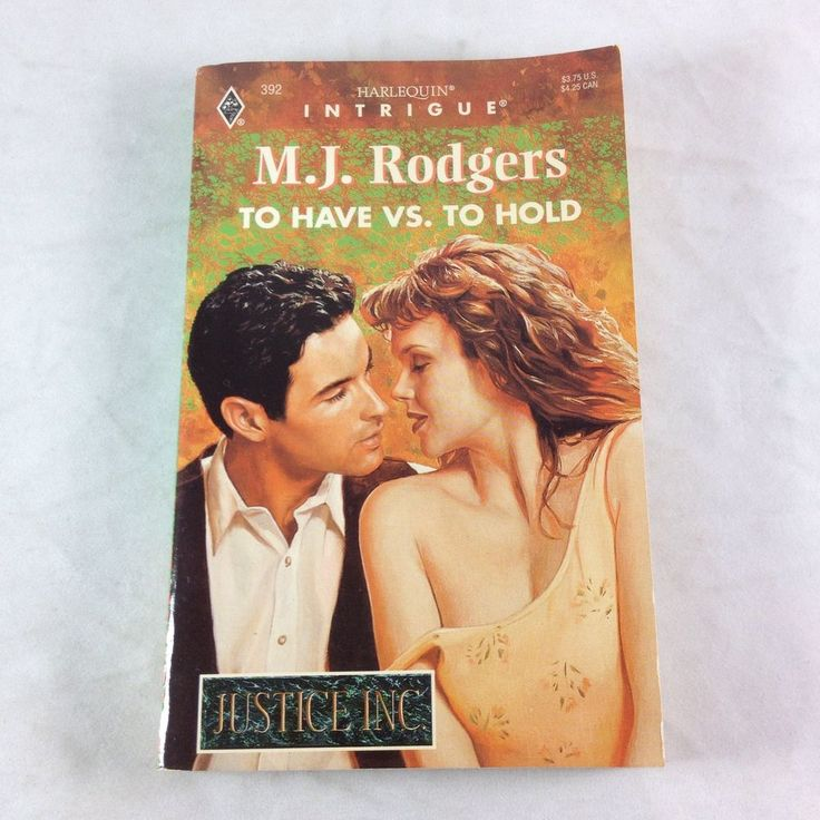Harlequin Intrigue Book To Have vs Hold M J Rodgers 1996 PB Mary Johnson Justice 373223927 | eBay