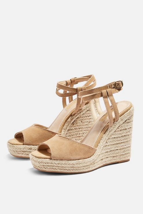 08f2d437178 WHITNEY Beige Espadrille Wedges in 2019 | Products | Beige ...