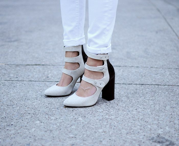 Aldo Rise strappy MAry JAnes - Toronto Fashion Week Street Style Shoes