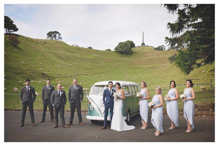 One Tree Hill, Auckland #AucklandWedding #KombiWedding Evermore Photography