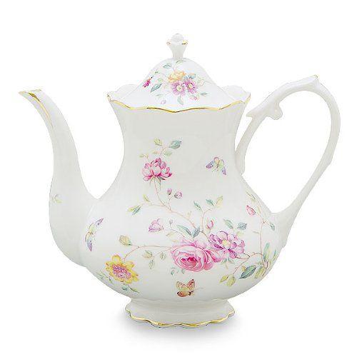 Gracie China by Coastline Imports 4-Cup Porcelain Teapot, Purple Floral Gracie China by Coastline Imports http://www.amazon.com/dp/B00EXIJXX0/ref=cm_sw_r_pi_dp_qd6Nub1DW4926