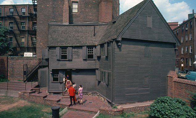 Workers digging around Paul Revere's house in Boston believe they may have found his outhouse. The team found a 4x6 foot brick rectangle that is too small to be the foundation for a house or a shed.