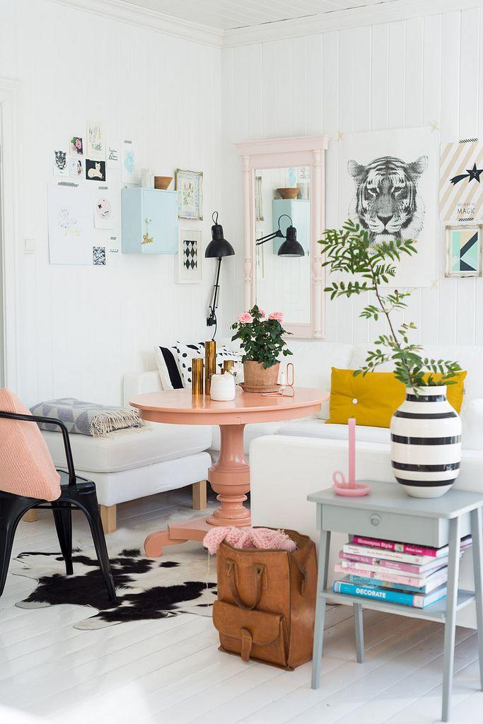 Norwegian Living Room from Decor8