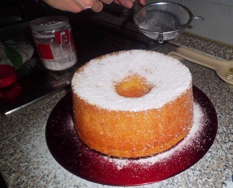 Chiffon Cake - Ciambella Americana