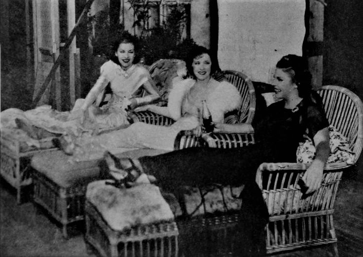 The ladies of The Big Broadcast of 1937: Gracie Allen, Martha Raye & Shirley Ross