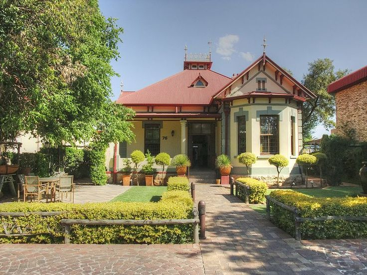 76 Lombard Street, Potchefstroom (new street name: James Moroka Ave) Type of site: Residence.