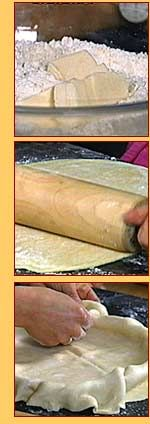 Pie crust tips from Julia Child. Here's the recipe http://www.cooks.com/recipe/6s5pc9c7/julia-childs-perfect-pie-crust.html