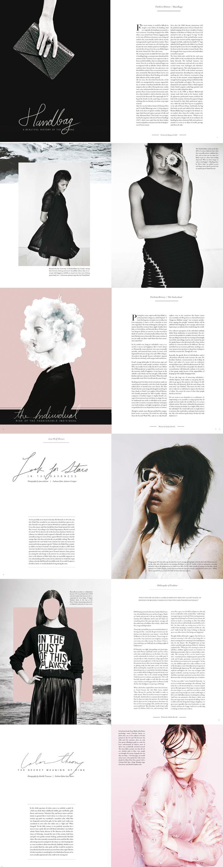 Tipo 1 Retícula simple: Las páginas con 2 columnas Lone Wolf Magazine (Volume 11)