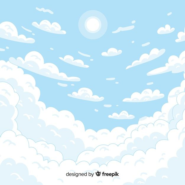 Download Hand Drawn Sky Background For Free In 2020 How To Draw Hands Sky Drawing Sky