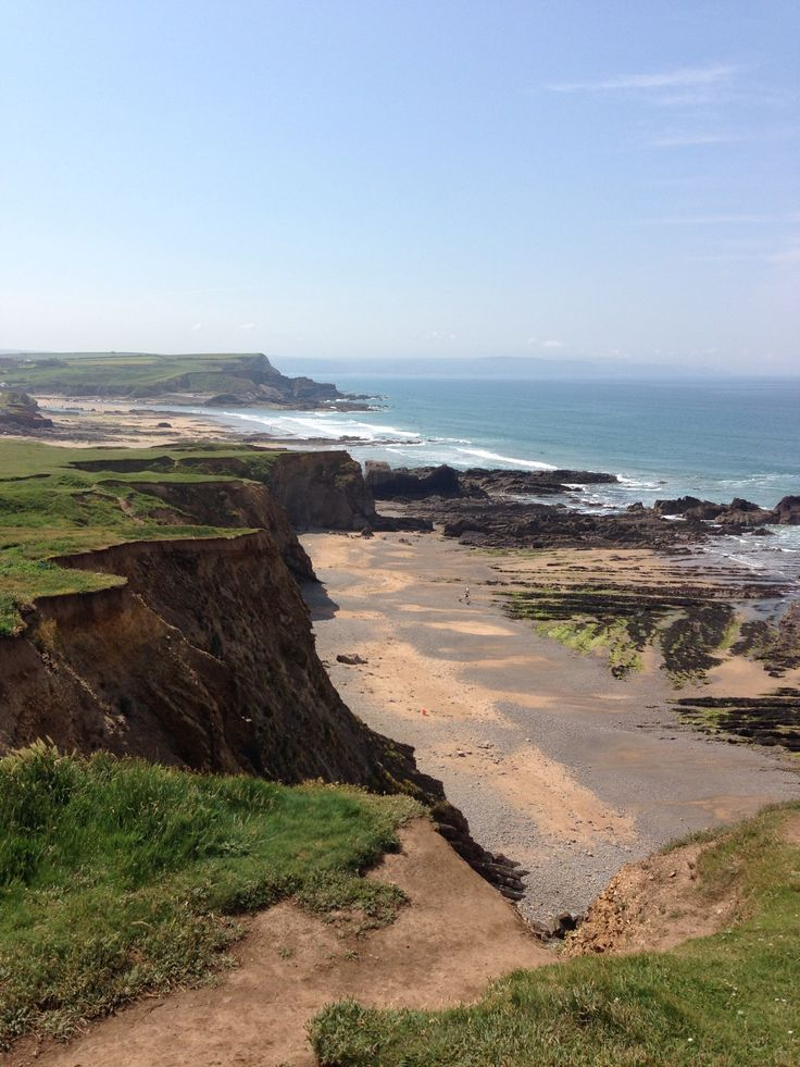 Bude, Cornwall. It's positively breathtaking.