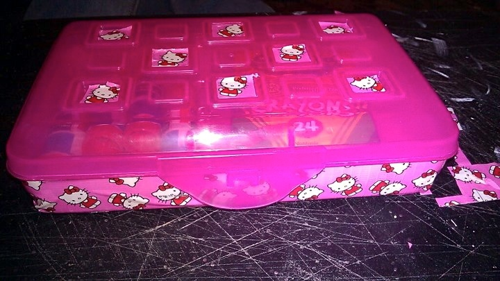 how to make a pencil box for school with paper