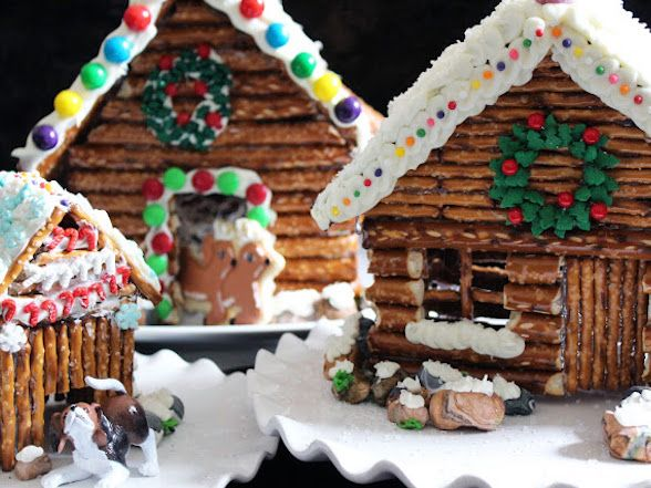 preserving gingerbread house