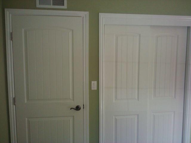 Two Panel Interior Door And Closet Doors