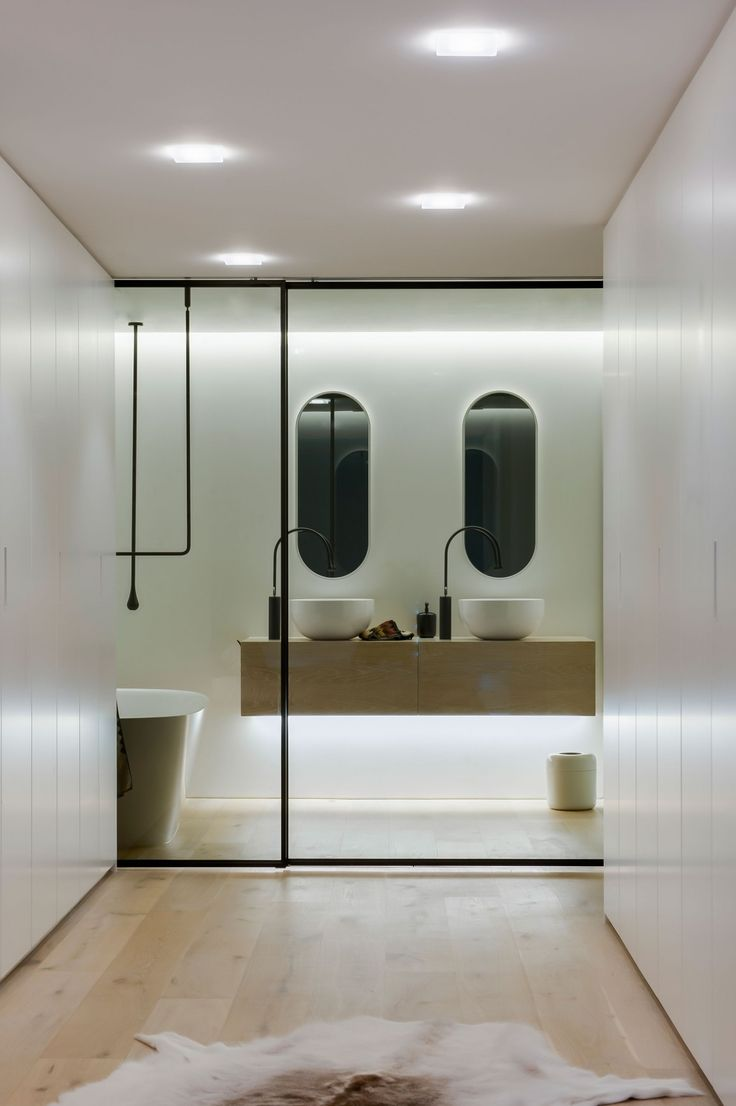 Bathroom vanity inspirations by edone design - Clean Simple Lines By Minosa Design