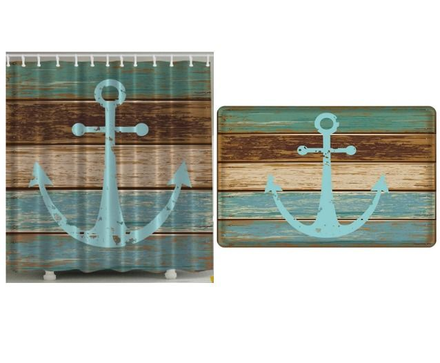 1000 Ideas About Anchor Shower Curtains On Pinterest