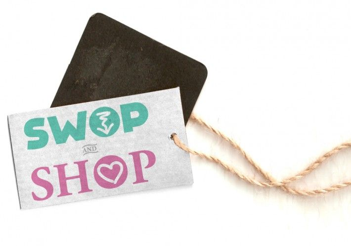"""Logo for """"Swop and Shop"""" by Studio Phunc"""