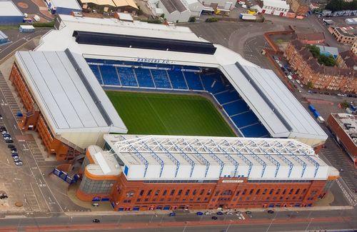Ibrox Stadium: Glasgow, Scotland