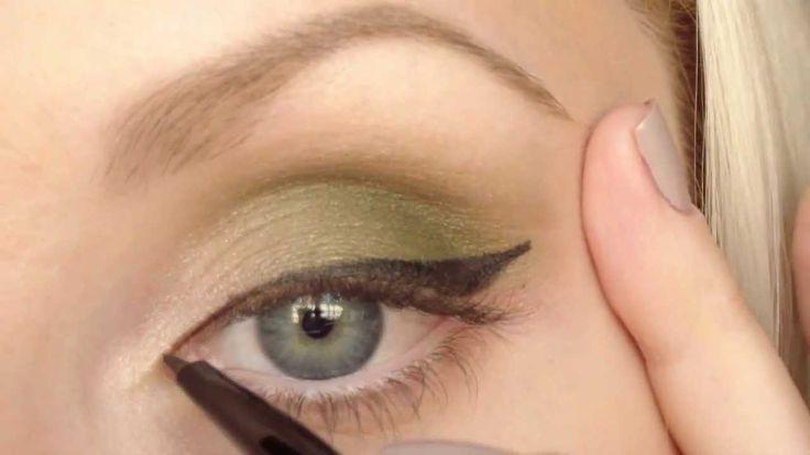 ДНЕВНОЙ МАКИЯЖ для глаз в зеленых тонах с палеткой от BeYu!