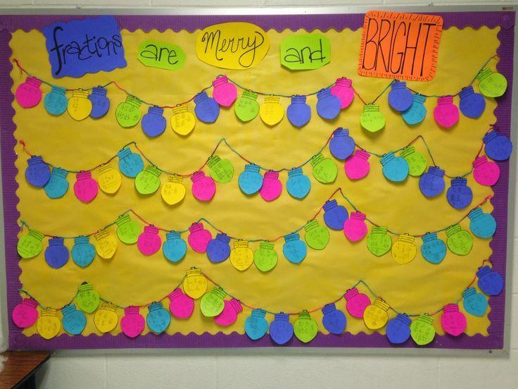 Bulletin Christmas Board Ideas