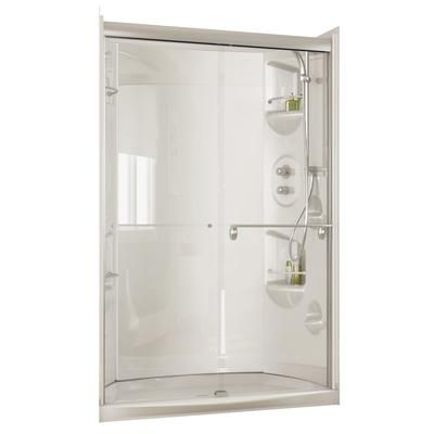 basement bath Maax Urbano 4832 Optional White Acrylic