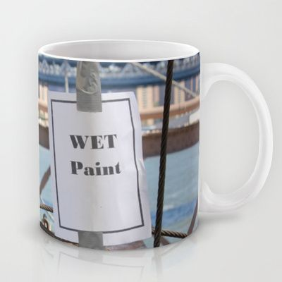 Wet paint Mug by Jaana - $15.00