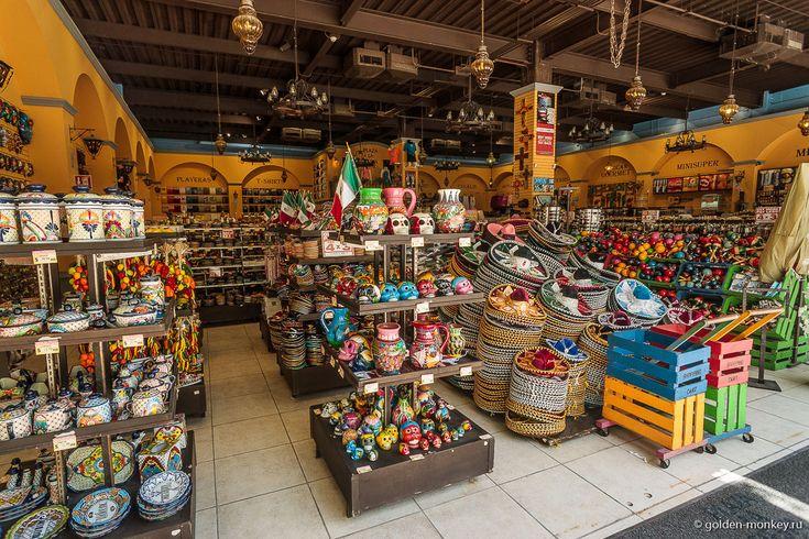 сувенирный магазин в Плайя-дель-Кармен