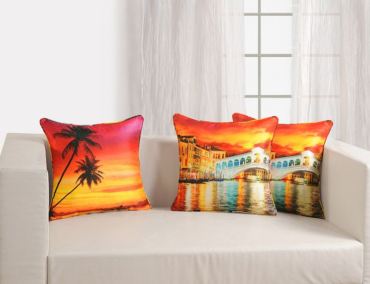 CUSHION COVER -SCENERY - FlickDeal