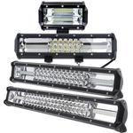 7D 5'' 12'' 16'' 20'' Inch Auto Car LED Light Bar