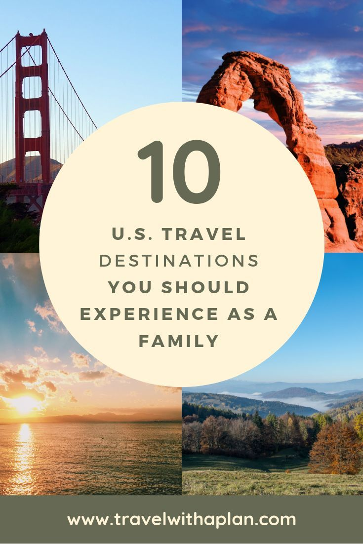Usa Bucket List 15 Must See Places For Families Travel With A Plan Family Travel Family Travel Destinations Best Family Vacation Spots
