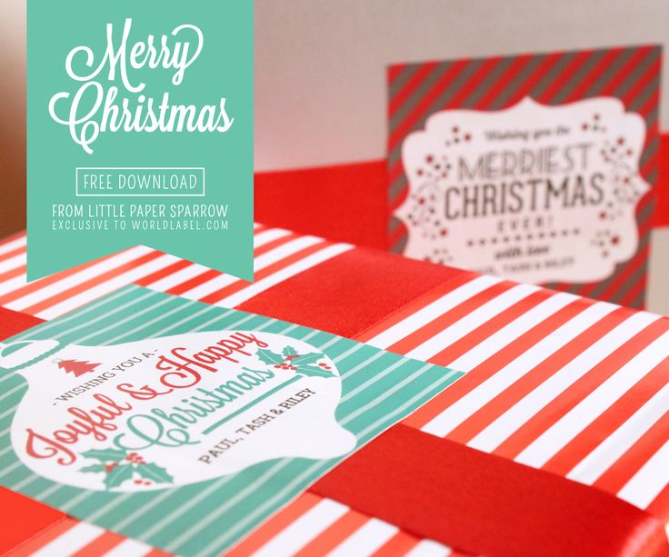 The 25+ best Christmas labels template ideas on Pinterest - free christmas word templates