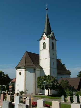 Metzerlen-Mariastein, Kirche St. Remigius (Dorneck) SO CH
