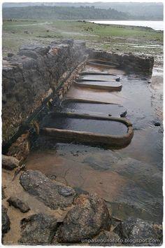 Un paseo,una foto: Termas romanas de Bande (Ourense). Roman baths of Bande ( Ourense )  Galicia - Spain.