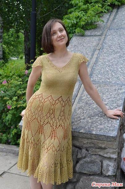 """Платье """"Артишоки"""""""