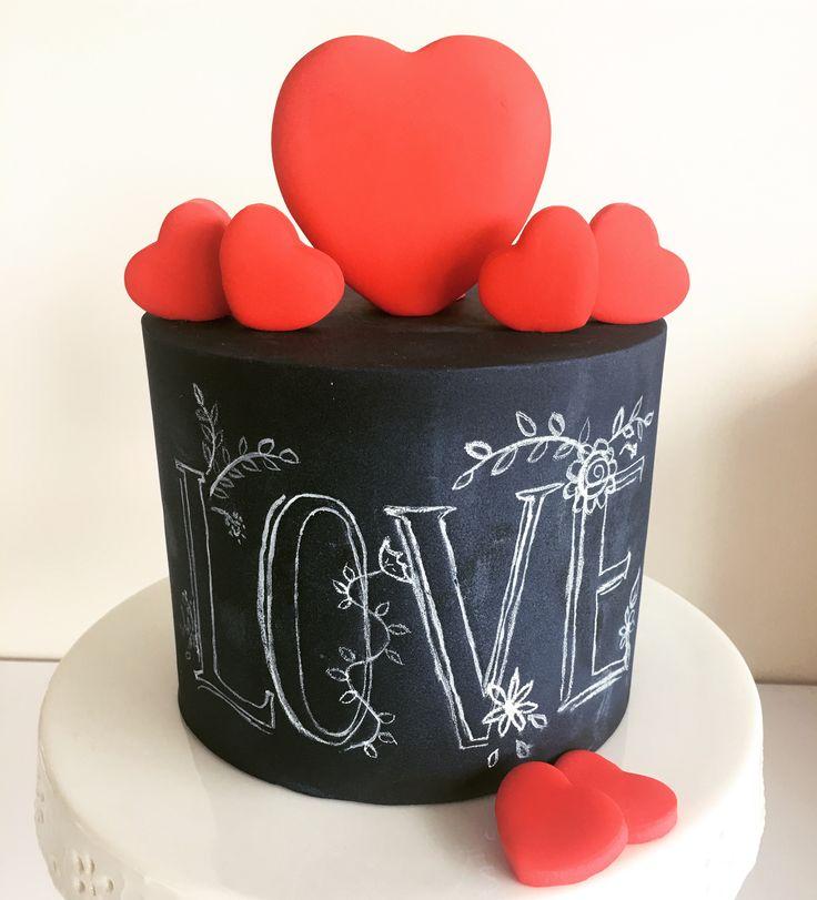 Valentinesday cake Didem Kçar Pasta&Kurabiye Didem Kaçar Cake&Cookie