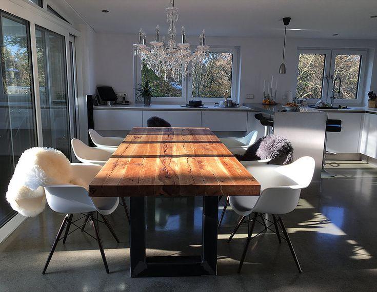 die besten 25 industriedesign tischgestell ideen auf pinterest tischgestell industriedesign. Black Bedroom Furniture Sets. Home Design Ideas
