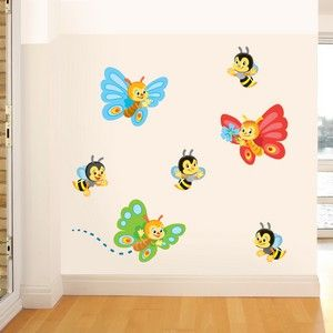 Cool Bees and Butterflies