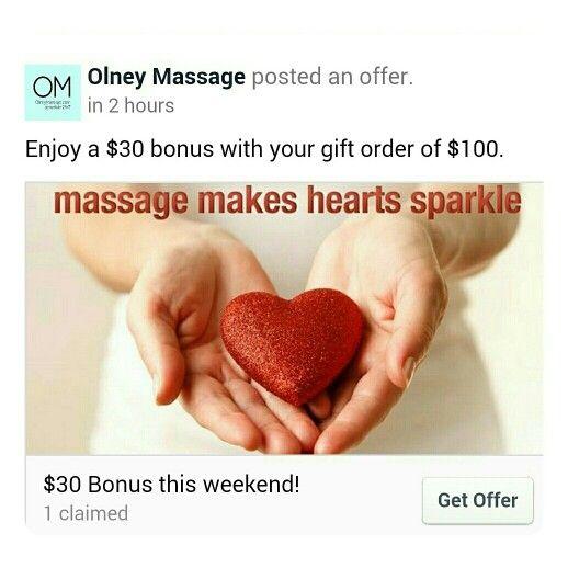massage olney