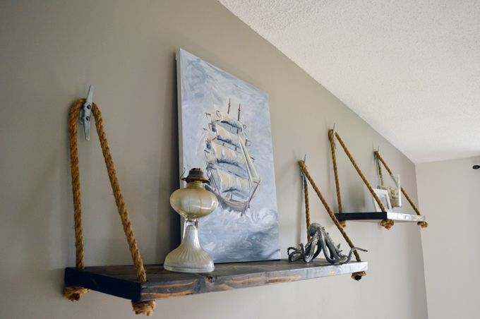 Hello Monday Design :: The Blog: Home Update // Nautical Living Room